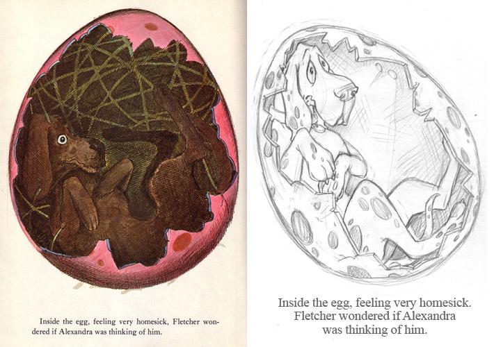 Fletcher in the Egg